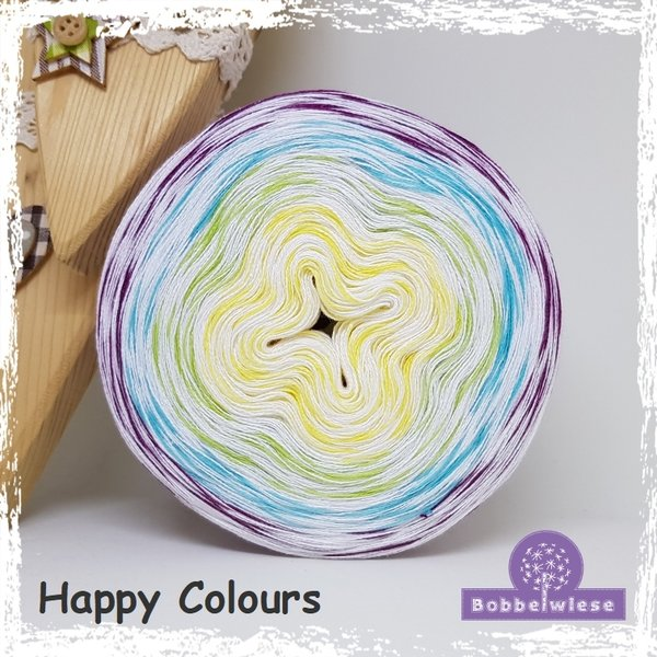 Happy Colours, 3-fädig (100 m = 1,40 €)